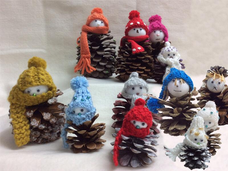 Mu eco decoraci n navidad cosas ninis - Adornos navidenos con pinas ...