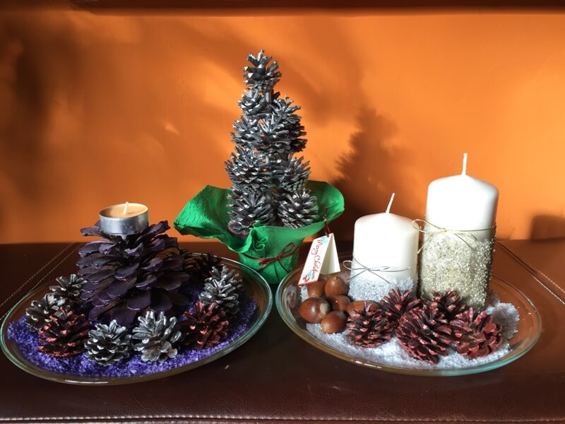 centros de mesa originales para navidad cosas ninis