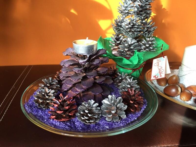 Centros de mesa originales para navidad cosas ninis - Adornos navidad originales ...